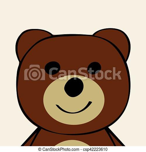 Divertente toy cartone animato orso animale divertente