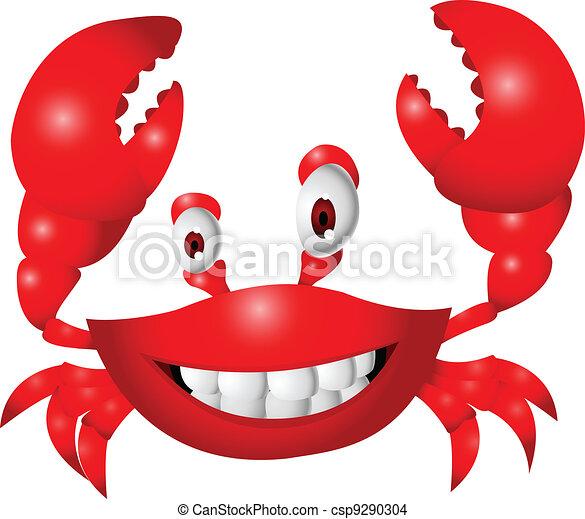 Gracioso dibujo de cangrejo - csp9290304