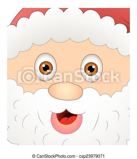 Gracioso Santa Claus - csp23979071