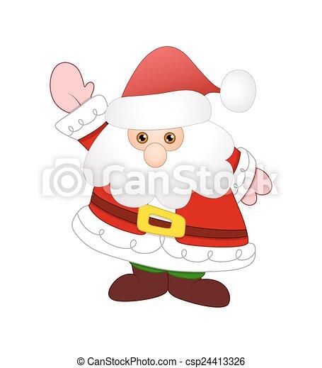 Gracioso Santa - csp24413326