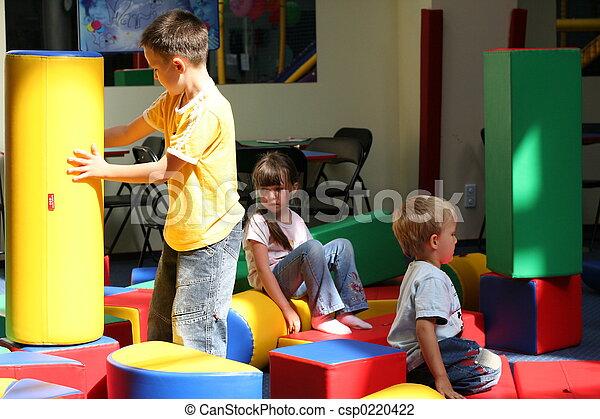 divertimento, crianças - csp0220422