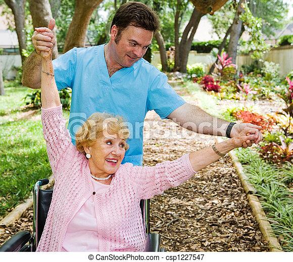 divertimento, terapia, físico - csp1227547