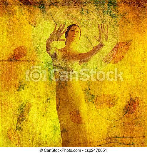 Divine Insight - csp2478651