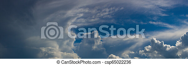 Divine sky with clouds - csp65022236