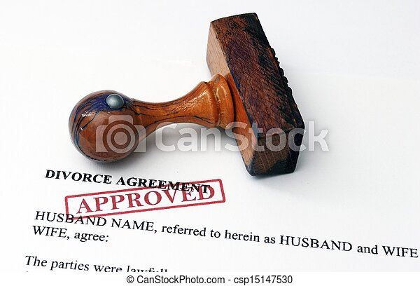 Divorce agreement - approved - csp15147530