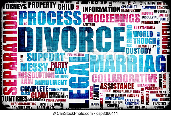 Divorce - csp3386411