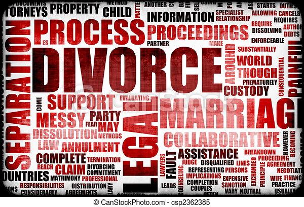 Divorce - csp2362385