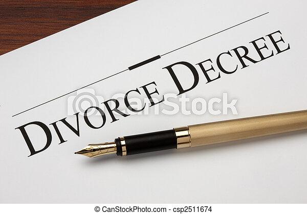 Divorce - csp2511674