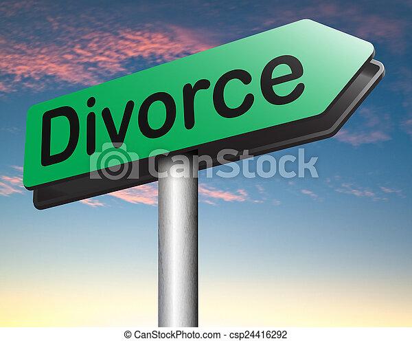 divorce - csp24416292