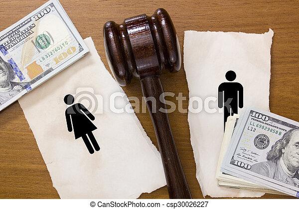 divorzio, sezione - csp30026227