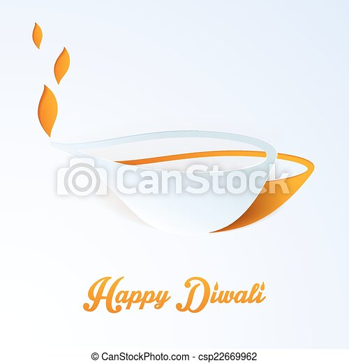 diwali, 幸せ - csp22669962