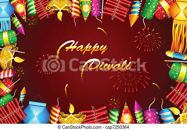 Diwali Background - csp7250364