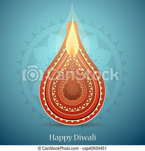 Diwali festival greeting card indian festival diwali clipart diwali festival greeting card csp40630451 m4hsunfo