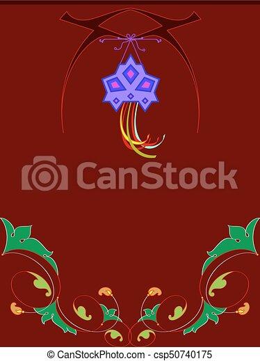 Diwali greeting design vector art diwali greeting design csp50740175 m4hsunfo
