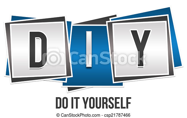 Diy do it yourself image with diy abbreviation and do it yourself diy do it yourself csp21787466 solutioingenieria Choice Image