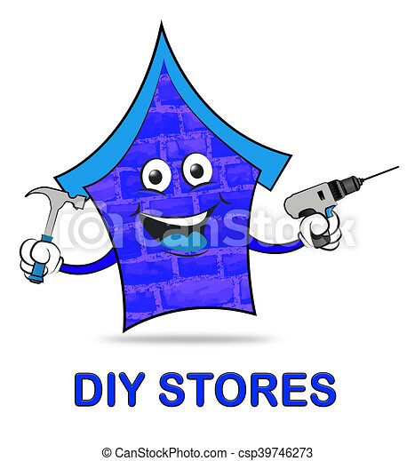 Diy stores represents do it yourself 3d illustration diy stock diy stores represents do it yourself 3d illustration solutioingenieria Gallery