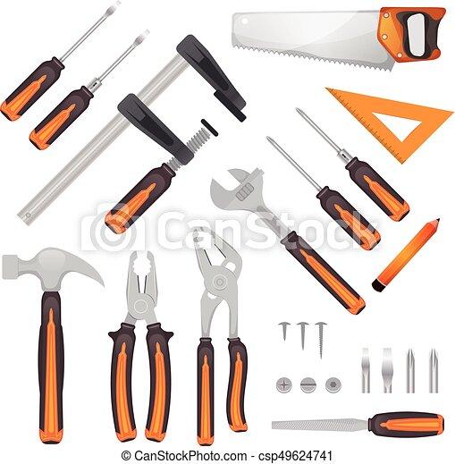 DIY Tools Set - csp49624741