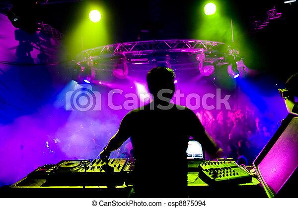 dj, concerto - csp8875094