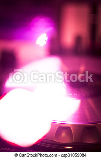 Dj Console Mixing Desk Ibiza House Music Party Nightclub Dj Console