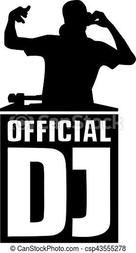 dj silhouette with official dj rh canstockphoto com dj victoria dj victor rodriguez