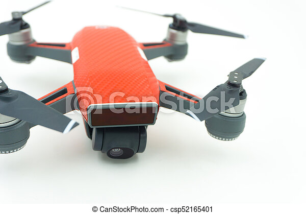 DJI Spark drone start sell in Thailand, Spark is a mini drone from DJI. - csp52165401