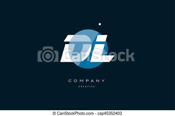 Dl D L Blue White Circle Big Font Alphabet Company Letter Logo Dl D L Blue Circle Dot Big Font Alphabet Company Letter Logo