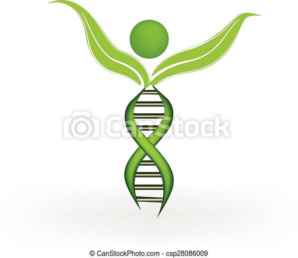 DNA logo - csp28086009