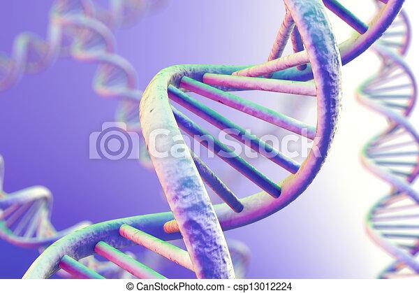 DNA Magnification - csp13012224
