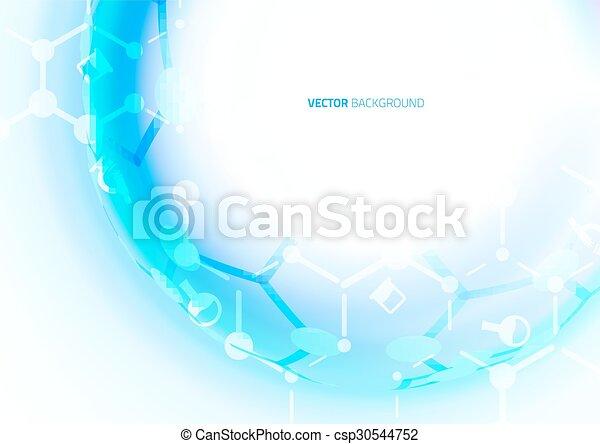 DNA molecule structure background.  - csp30544752