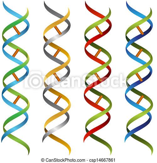 DNA Ribbon Set - csp14667861