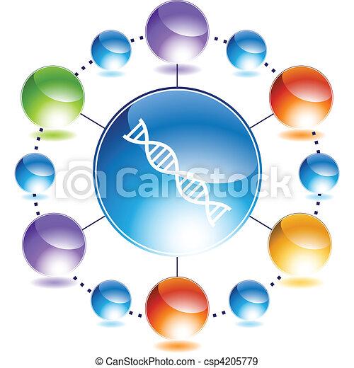 DNA - csp4205779