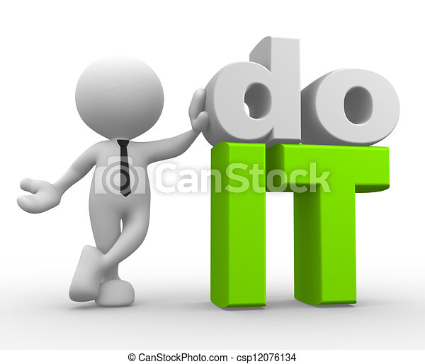 Do it! - csp12076134
