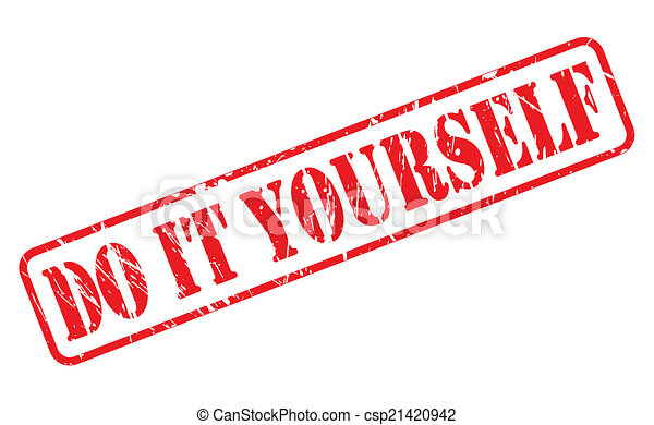 Do it yourself red stamp text on white eps vector search clip art do it yourself red stamp text csp21420942 solutioingenieria Images