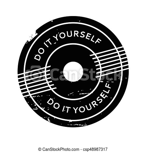Do it yourself rubber stamp grunge design with dust vector clip do it yourself rubber stamp csp48987317 solutioingenieria Choice Image