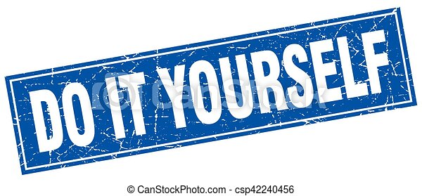 Do it yourself square stamp clipart vector search illustration do it yourself square stamp csp42240456 solutioingenieria Images