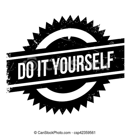 Do it yourself stamp grunge design with dust scratches clip art do it yourself stamp csp42359561 solutioingenieria Choice Image