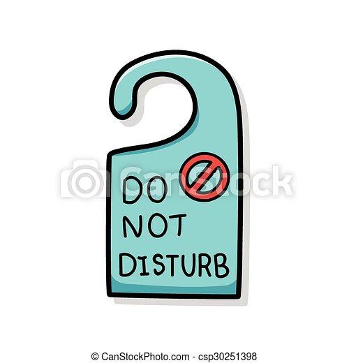 do not disturb doodle eps vectors search clip art illustration rh canstockphoto co uk please do not disturb sign clipart clipart do not disturb