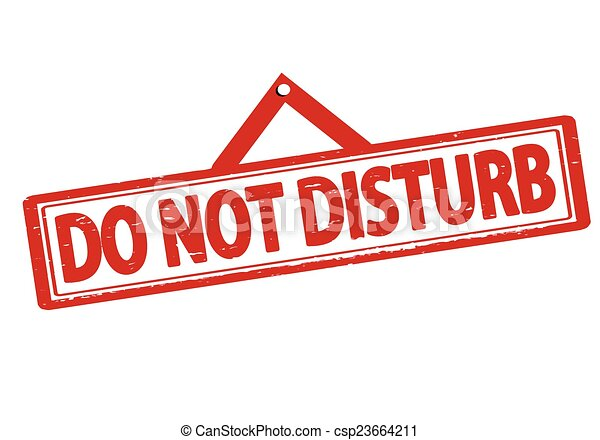 do not disturb rubber stamp with text do not disturb inside vector rh canstockphoto com Do Not Disturb Sign please do not disturb sign clipart
