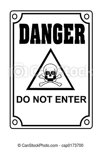 Do Not Enter Danger Symbol Stock Photography Search