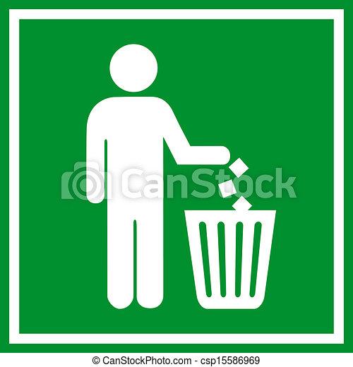 Do not litter - csp15586969