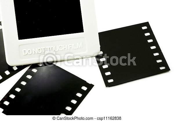 Do not touch film - csp11162838
