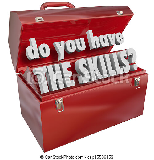 Do You Have the Skills Toolbox Experience Abilities - csp15506153