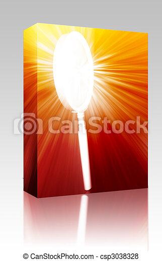 doboz, pohár, keres, magasztalás, csomag - csp3038328