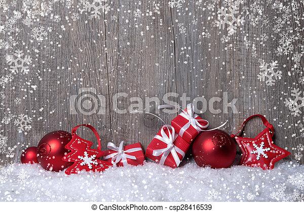 dobozok, dekoráció, karácsonyi ajándék - csp28416539