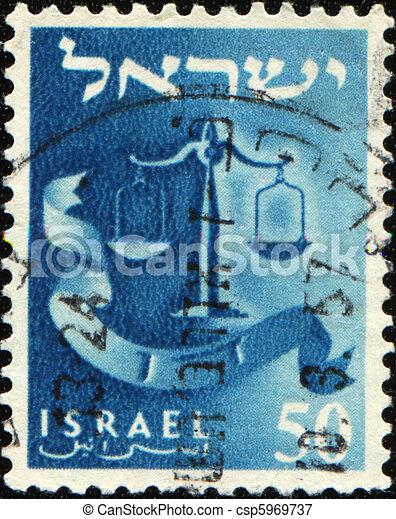 doce, escalas, dan, israel, -, tribus - csp5969737