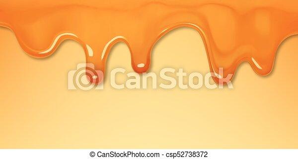 doce, molho caramel - csp52738372