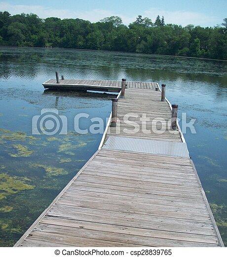 Dock - csp28839765