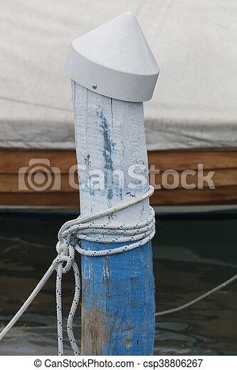 docking on lake - csp38806267