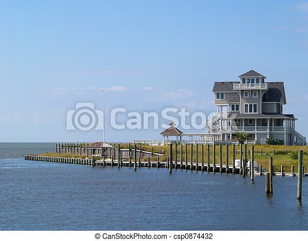 Dockside Vacation Home - csp0874432