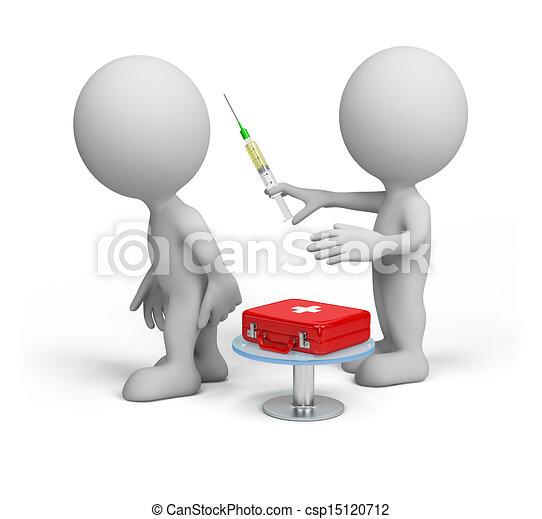docteur, patient - csp15120712